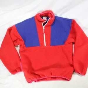 VTG COLUMBIA Colorblock 1/2 Zip Fleece Pullovers